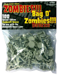 Zombies!!!: Bag O Zombies - Deluxe Box Front