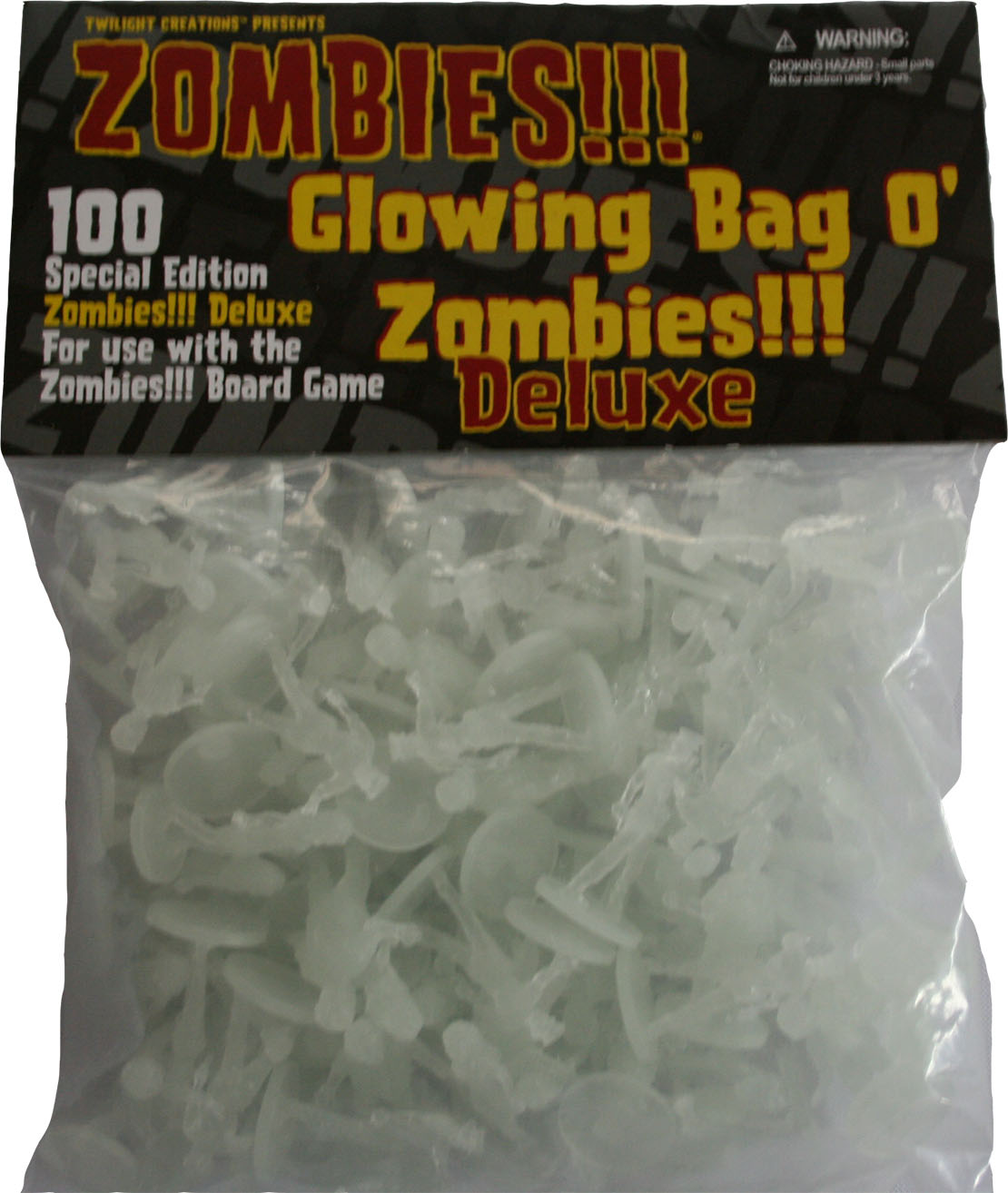 Zombies!!!: Bag O Zombies - Deluxe Glowing Box Front