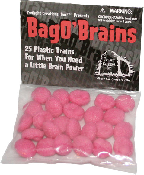 Zombies!!!: Bag O Brains - Pink Box Front