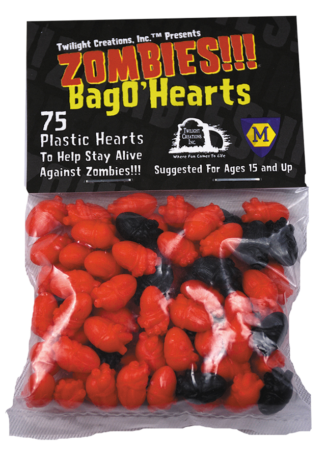 Zombies!!!: Bag O Zombies - Hearts Box Front