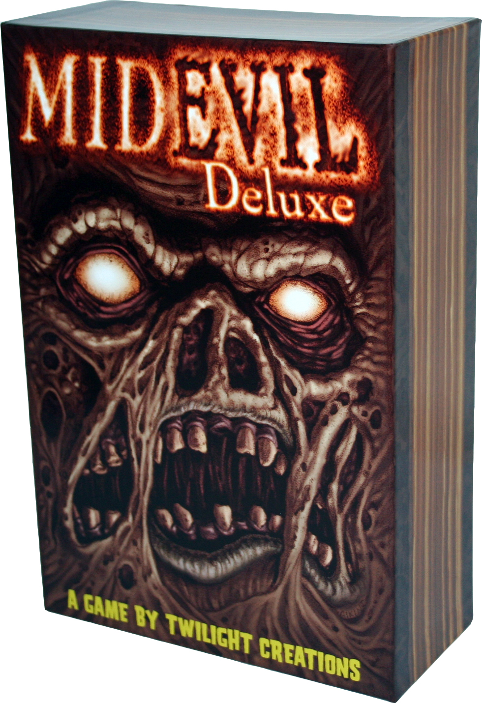 Zombies!!!: Midevil Deluxe Box Front