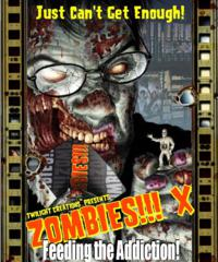 Zombies!!!: X - Feeding The Addiction Box Front