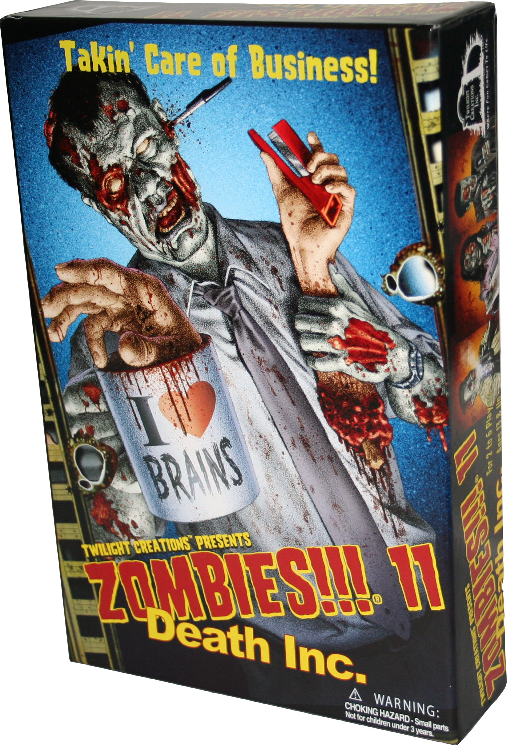 Zombies!!!: 11 - Death Inc. Box Front