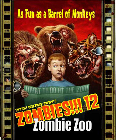 Zombies!!!: 12 - Zombie Zoo Box Front