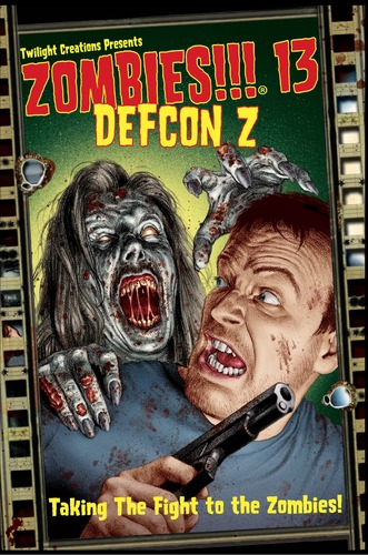 Zombies!!!: 13 - Defcon Z Box Front