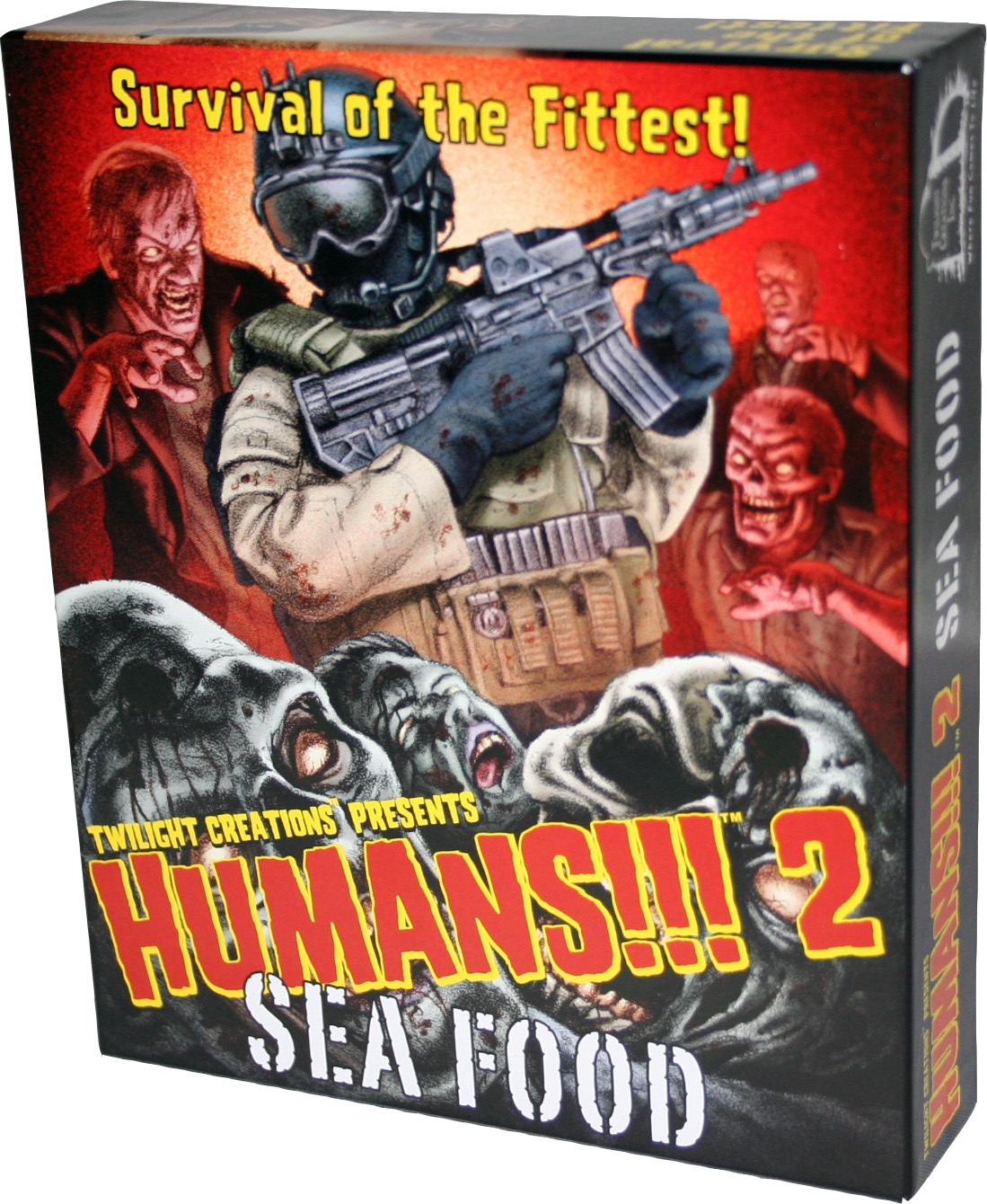 Humans!!!: 2 - Sea Food Box Front