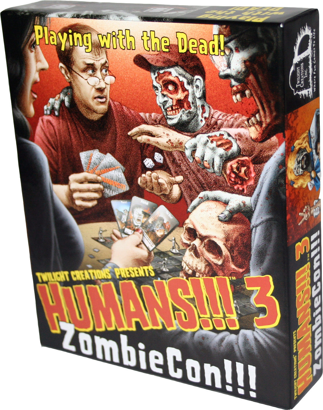 Humans!!!: 3 - Zombiecon Box Front