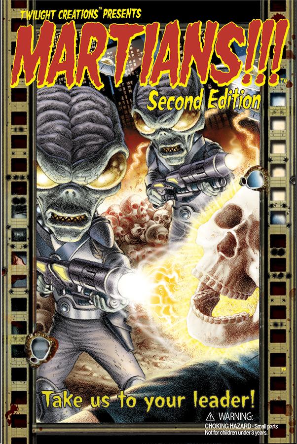 Martians!!! Second Edition Box Front