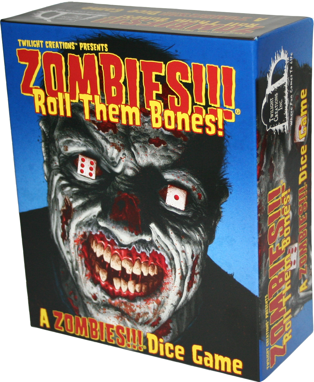 Zombies!!!: Roll Them Bones Box Front