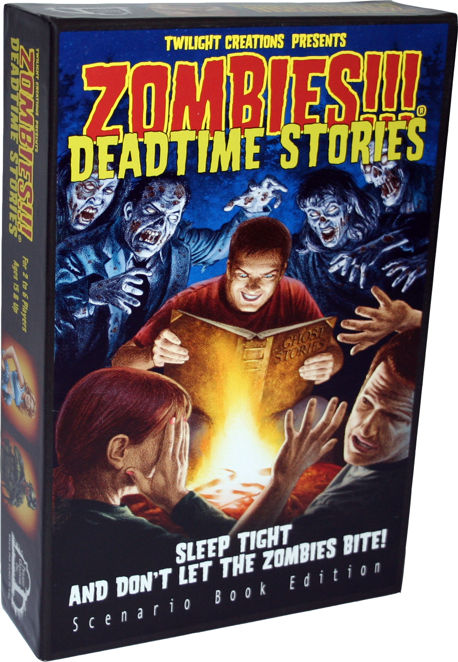 Zombies!!! Deadtime Stories Box Front
