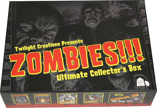 Zombies!!! Ultimate Collector`s Box Empty Box Front