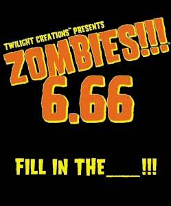 Zombies!!!: 6.66 - Fill In The _______!!! Box Front