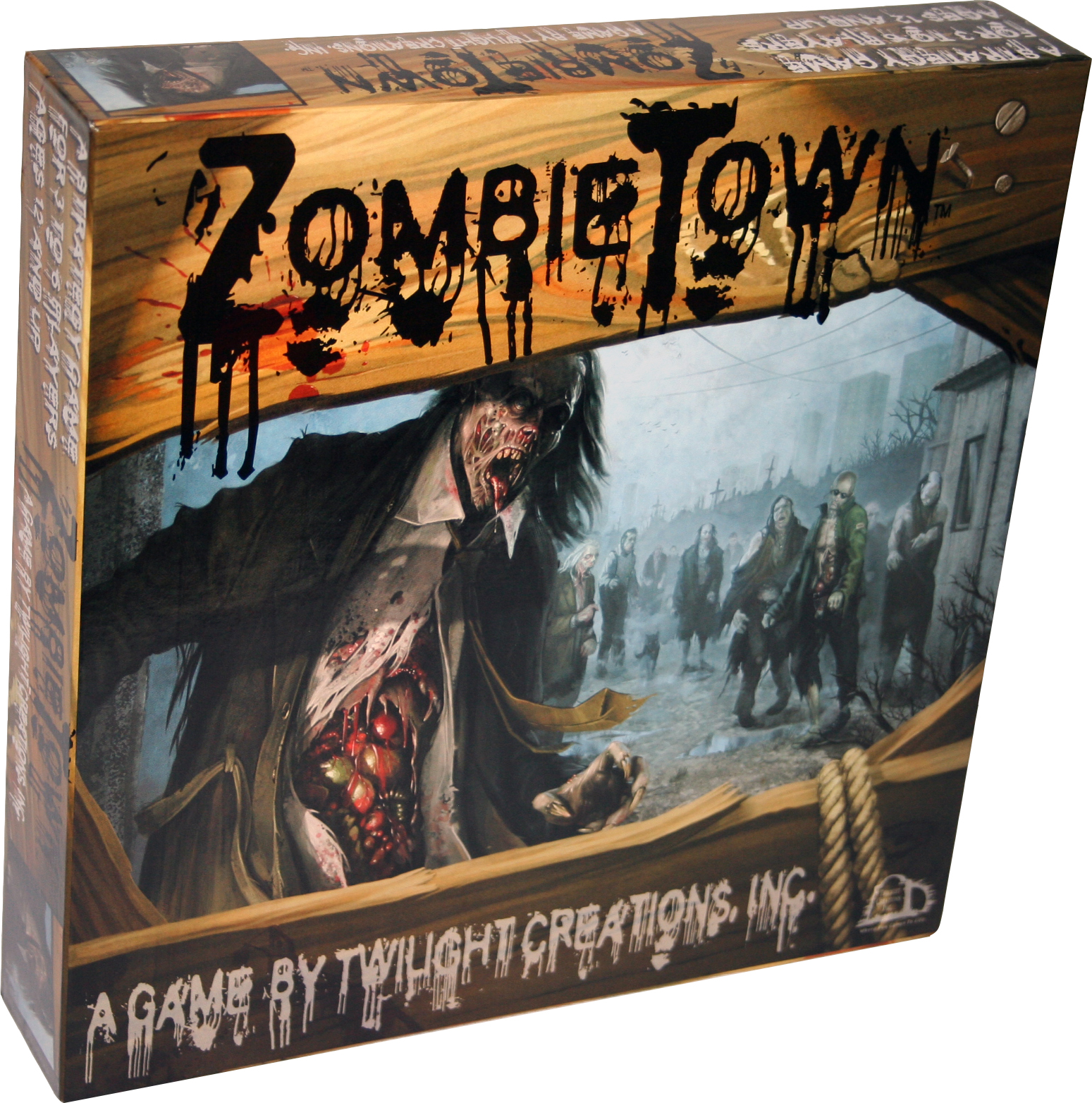 Zombies!!!: Zombie Town Box Front