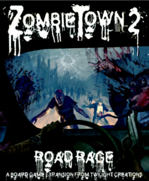 Zombies!!!: Zombie Town 2 - Road Rage Box Front
