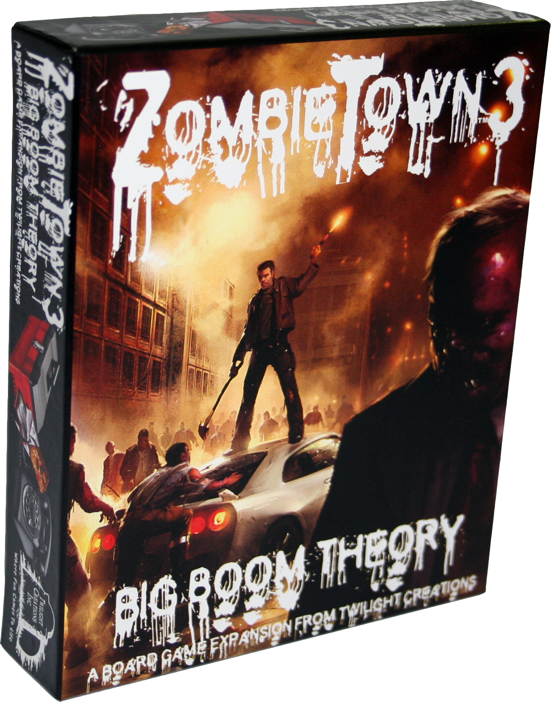 Zombies!!!: Zombie Town 3 - Big Boom Theory Box Front
