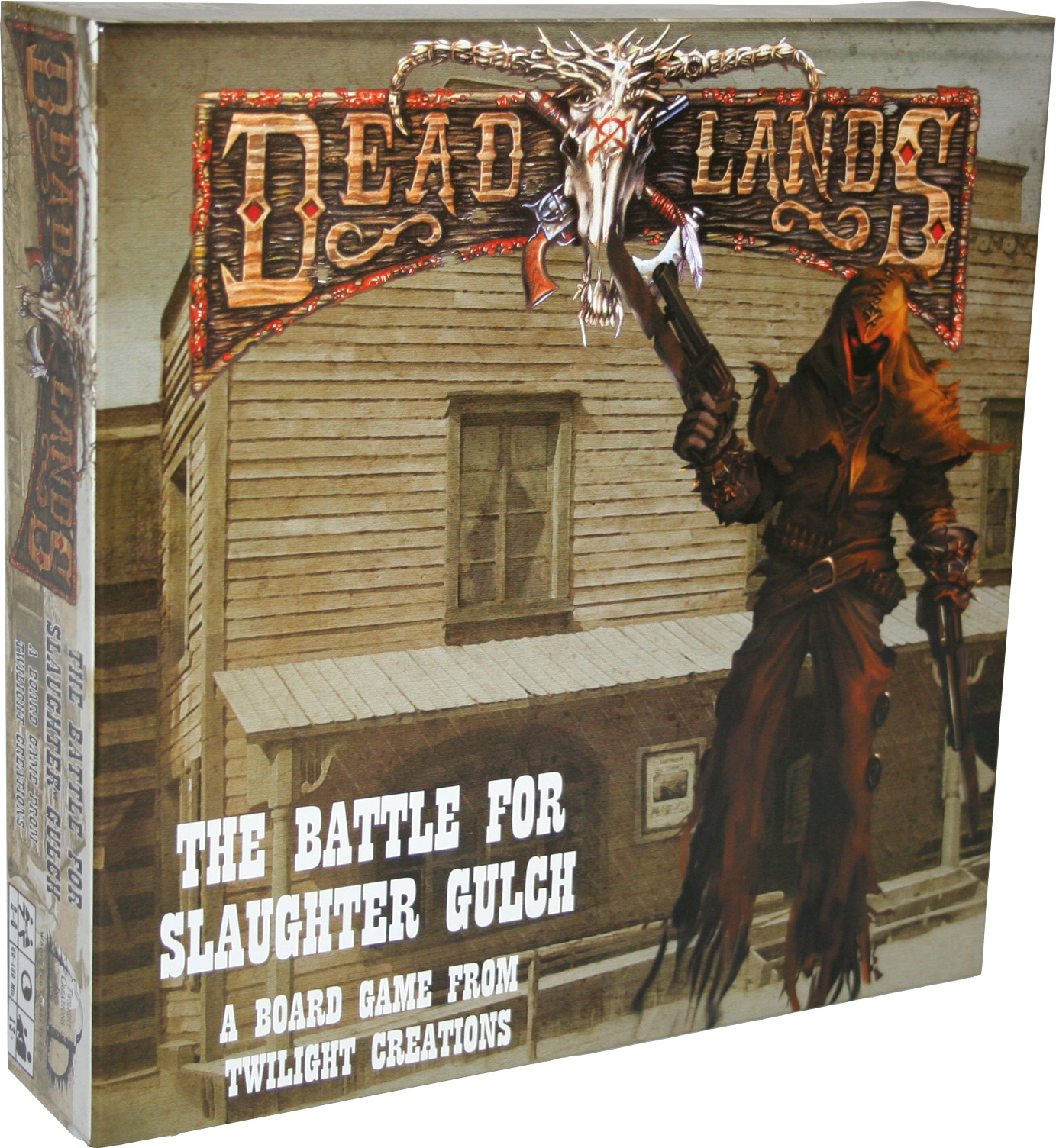 Deadlands Board Game: The Battle For Slaughter Gulch Box Front