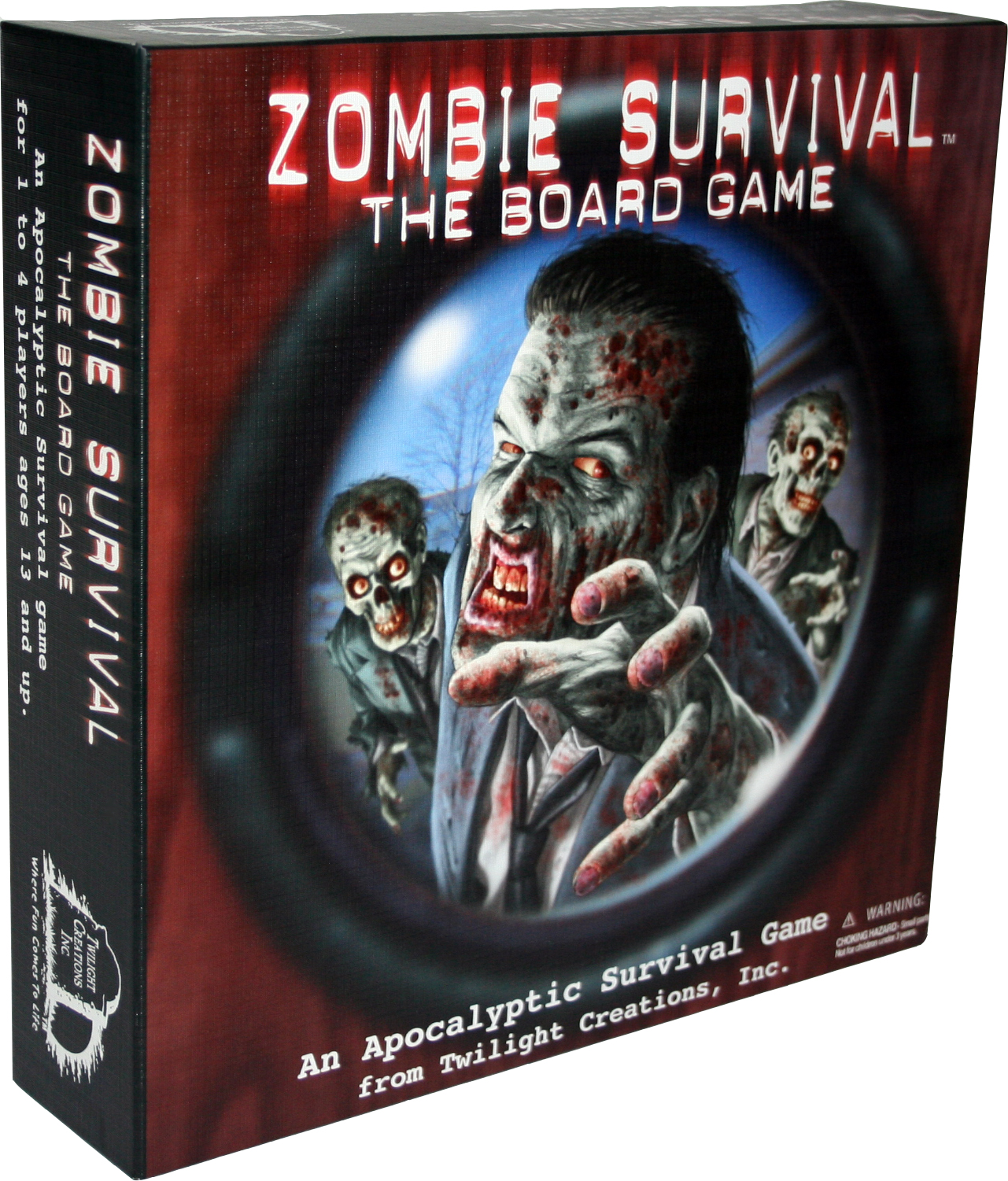 Zombie Survival Game Box Front