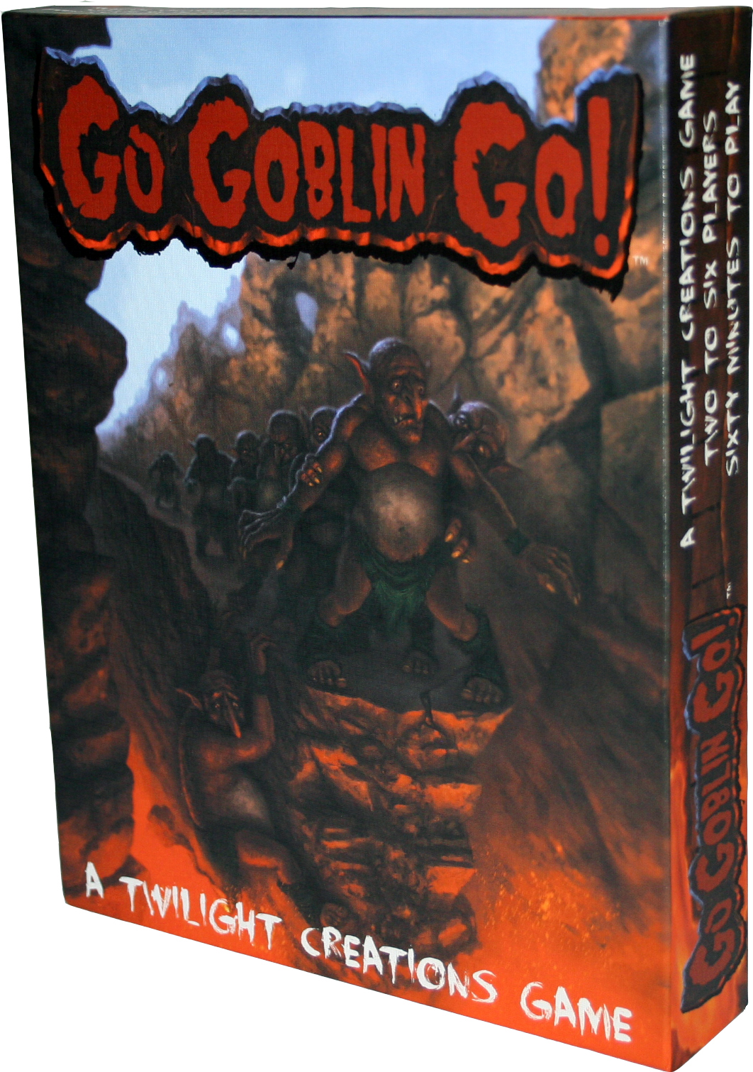 Go Goblin, Go! Box Front
