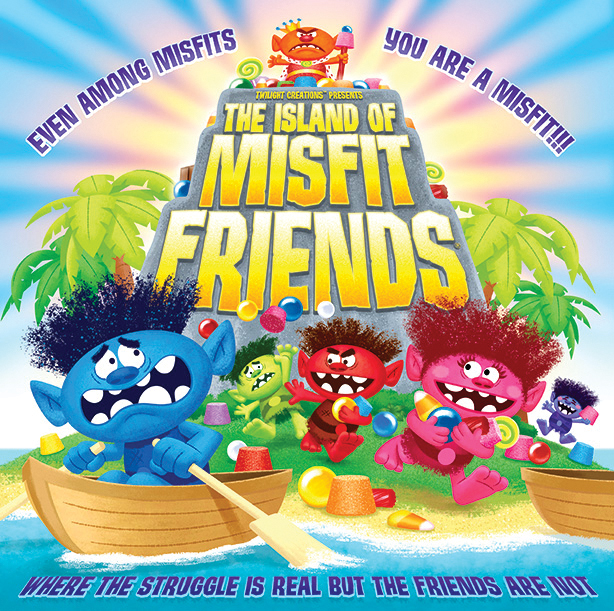 The Island Of Misfit Friends Box Front