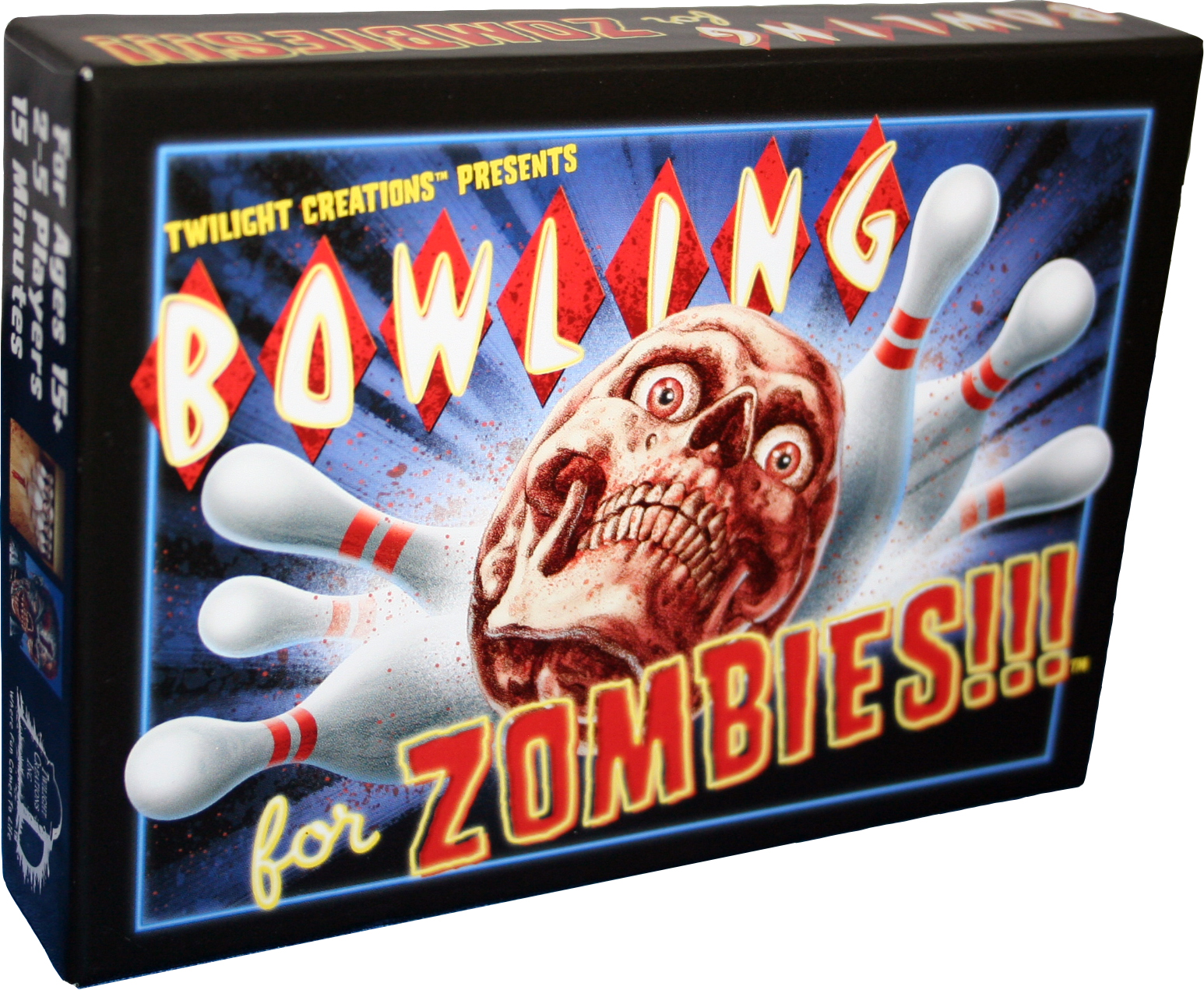 Bowling For Zombies!!! Box Front