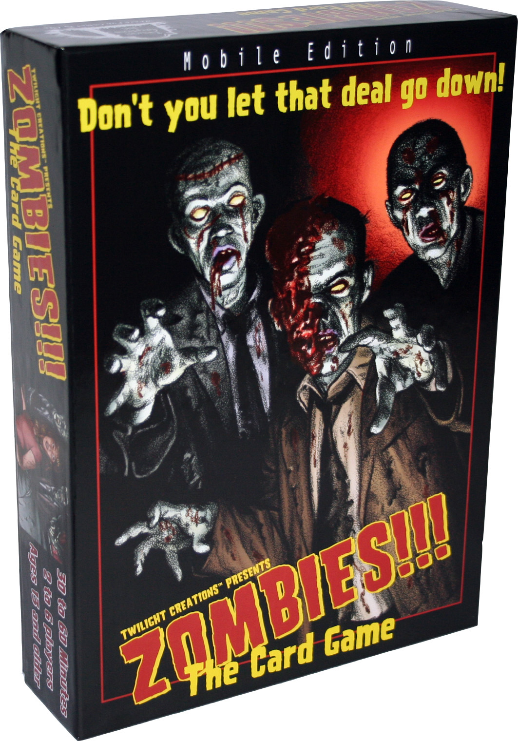 Zombies!!!: The Card Game Box Front