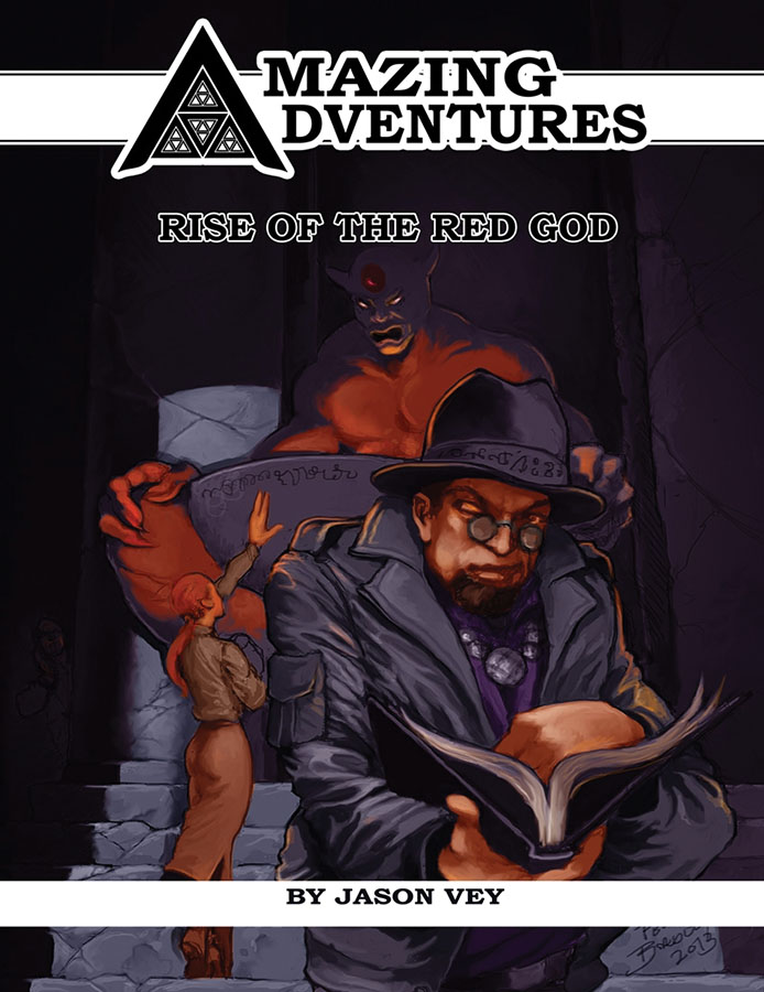 Amazing Adventures Rpg: Rise Of The Red God Box Front