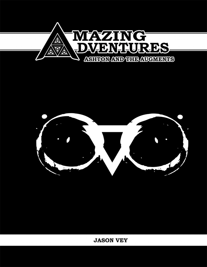 Amazing Adventures Rpg: Ashton And The Augements Box Front