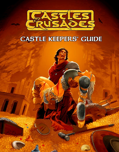 Castles And Crusades Rpg: Keeper`s Guide Hardcover (full Color) Box Front