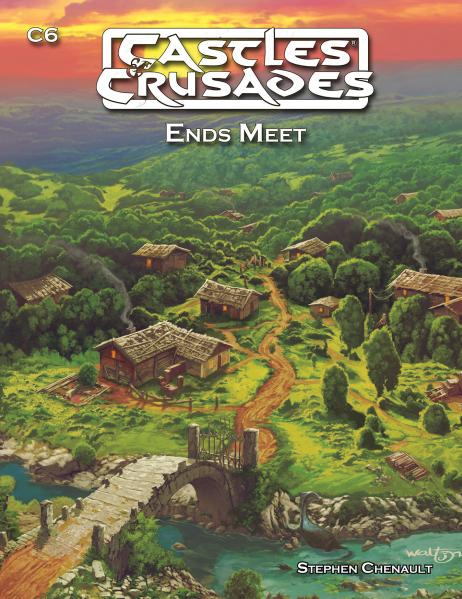 Castles And Crusades Rpg: C6 Ends Meet Box Front