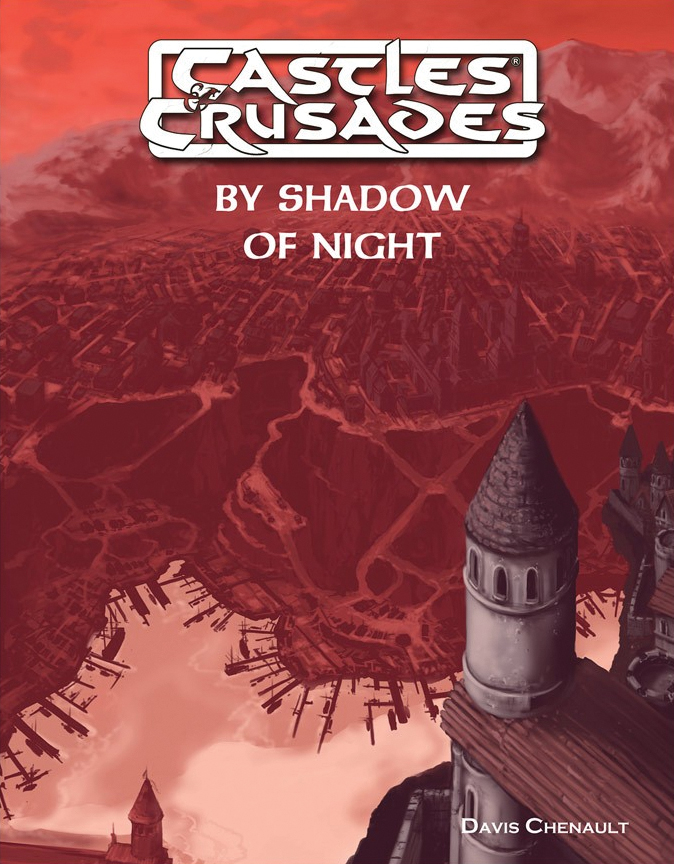 Castles And Crusades Rpg: By Shadow Of Night Box Front