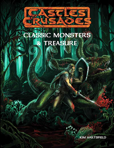 Castles And Crusades Rpg: Classic Monsters & Treasures Box Front