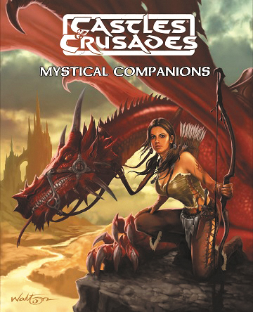 Castles And Crusades Rpg: Mystical Companions Sourcebook Box Front