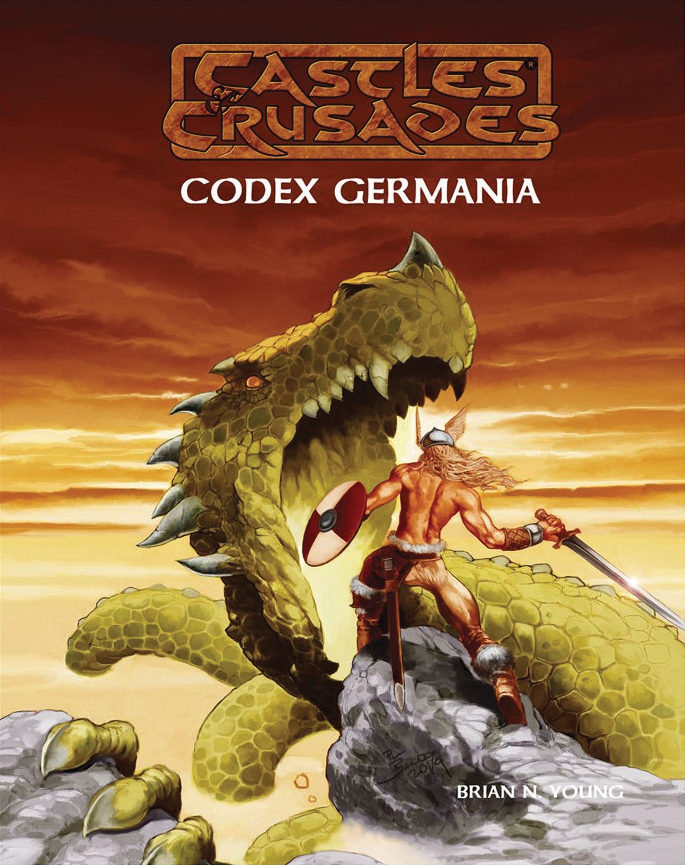Castles And Crusades Rpg: Codex Germania Box Front