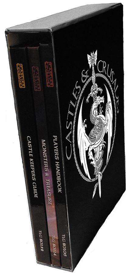Castles And Crusades Rpg: Slipcase Edition Box Front