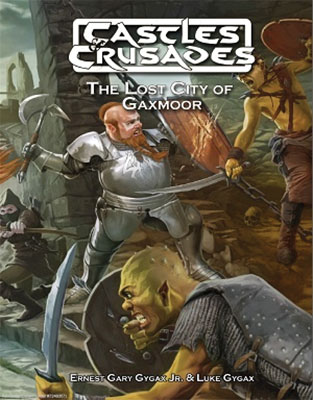 Castles And Crusades Rpg: Lost City Of Gaxmoor Hardcover Box Front