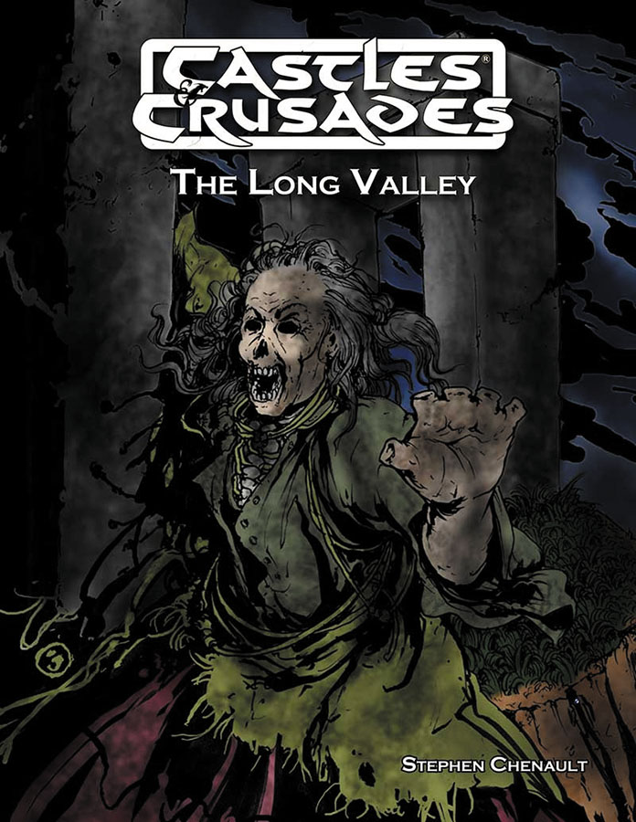 Castles And Crusades Rpg: The Long Valley Box Front