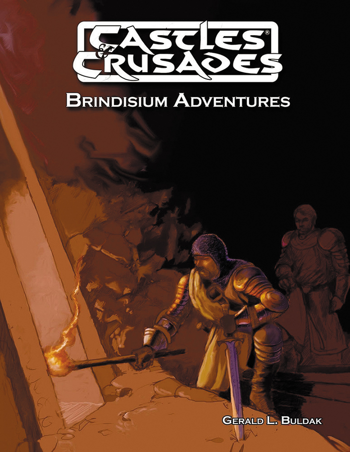 Castles And Crusades Rpg: Brindisium Adventures Box Front