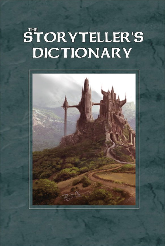 The Storyteller`s Dictionary Box Front