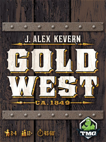 Gold West Game Box