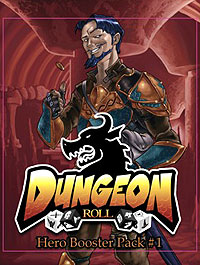 Dungeon Roll: Hero Booster 1 Expansion Game Box