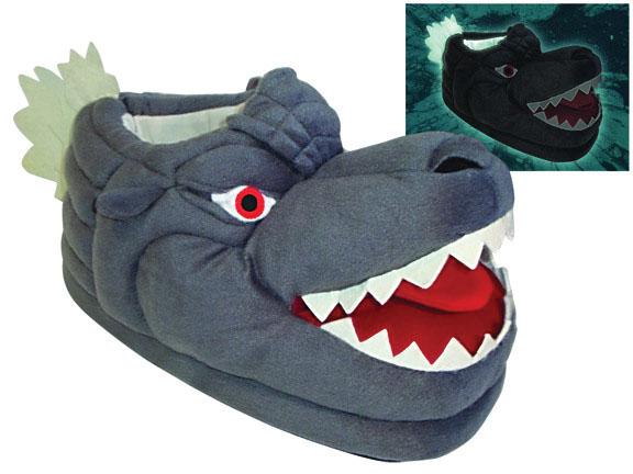 Godzilla Glow-in-the-dark Slippers Box Front