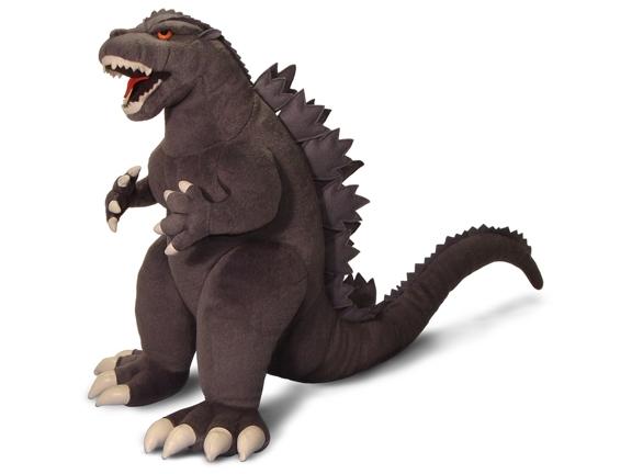 Godzilla Medium Plush (new Design) Box Front