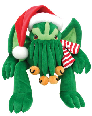 Santa Cthulhu Plush-large Box Front