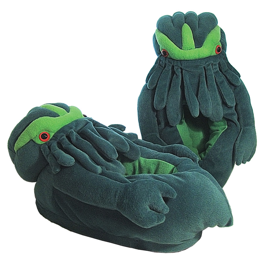 Twilight Terror Cthulhu Slippers Box Front
