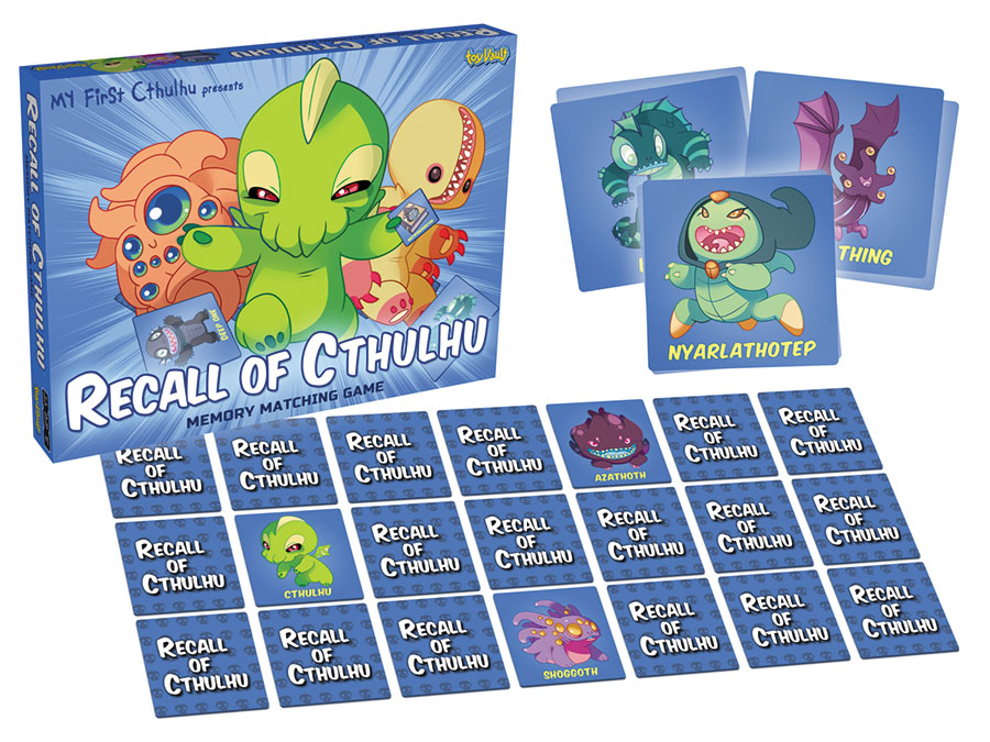 Cthulhu: My First Cthulhu - Recall Of Cthulhu Memory Game Box Front