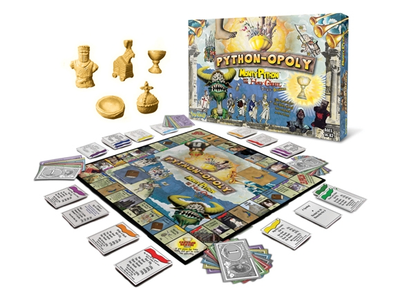 Python-opoly Board Game - Version 2 Box Front