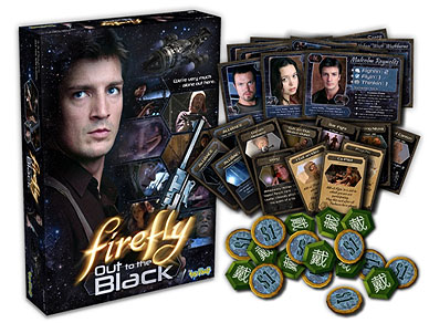 Firefly: Out To The Black Card Game Box Front