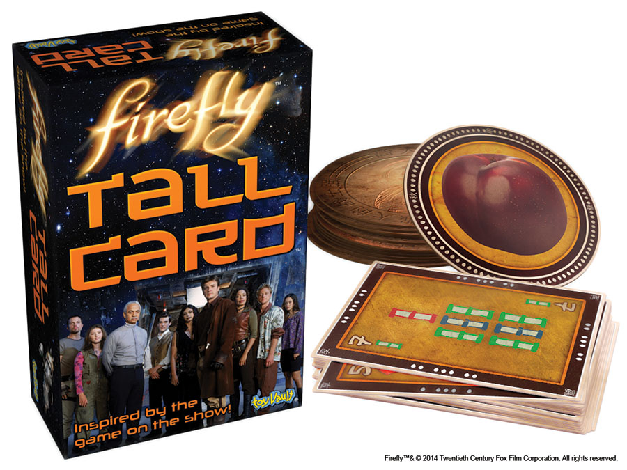 Firefly: Tall Card Game Box Front
