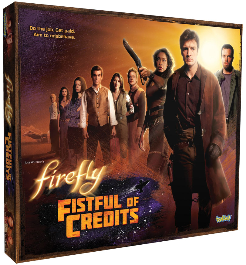 Firefly: Fistful Of Credits Board Game Box Front