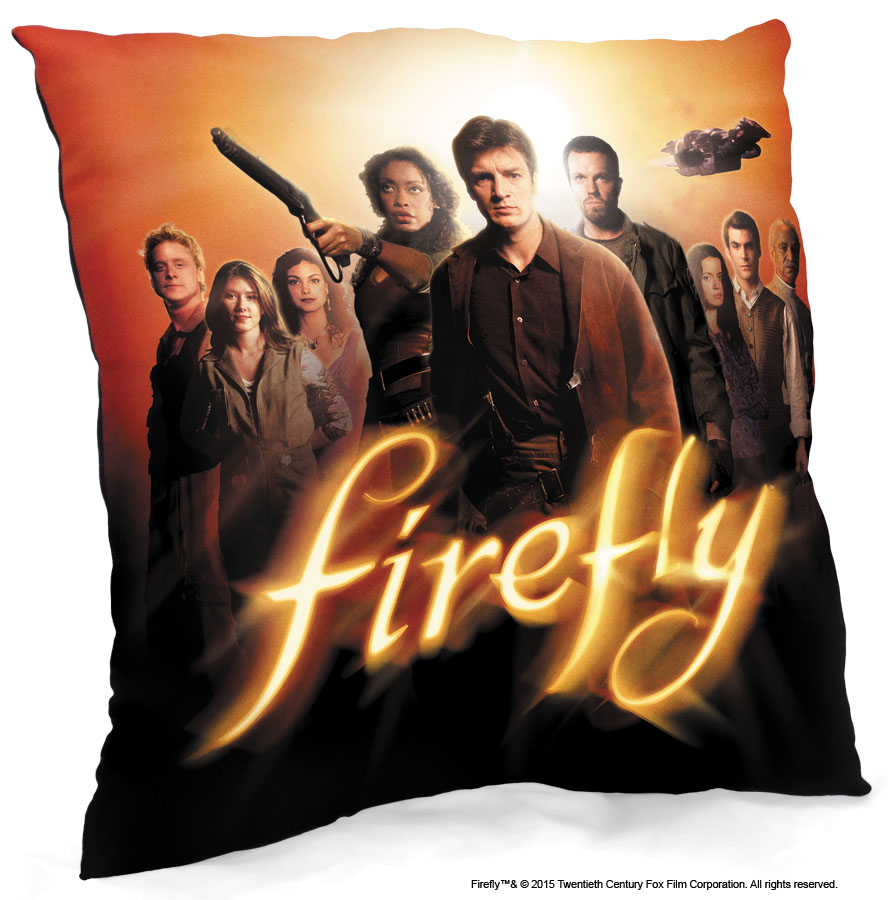 Firefly: Crew Throw Pillow Box Front